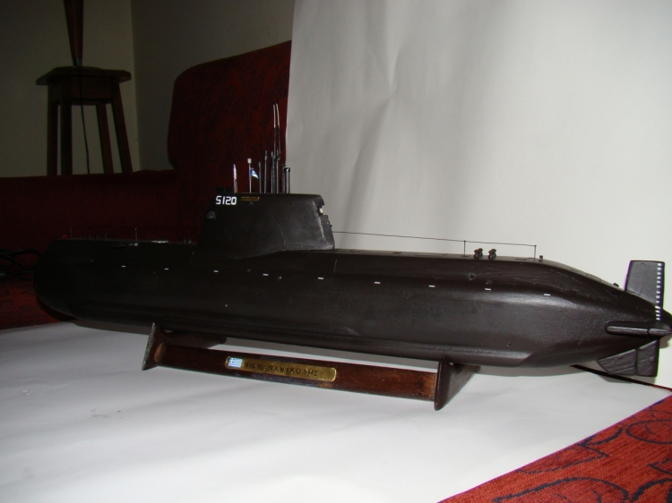 "[Scratch] SUB Type 214 Marine Grec S 120 ""Papanikolis""   43962_md"
