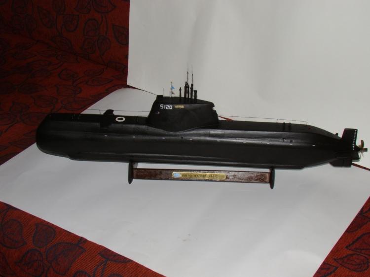 "[Scratch] SUB Type 214 Marine Grec S 120 ""Papanikolis""   43965_md"