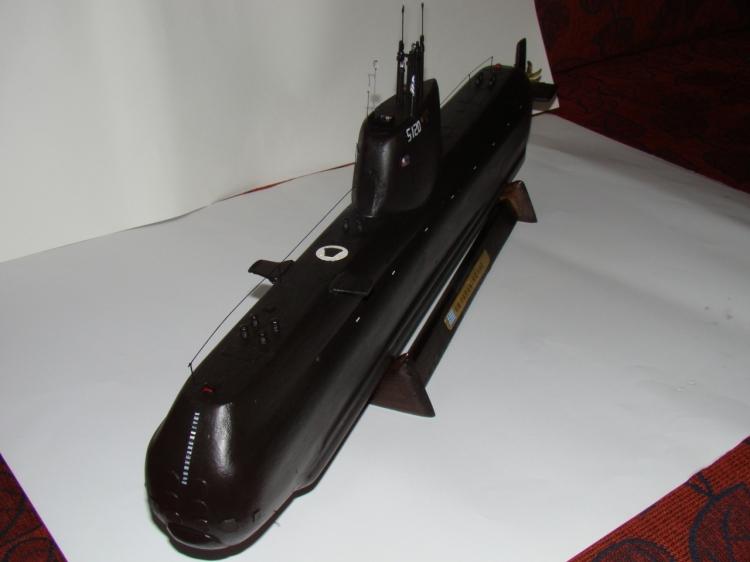 "[Scratch] SUB Type 214 Marine Grec S 120 ""Papanikolis""   43969_md"