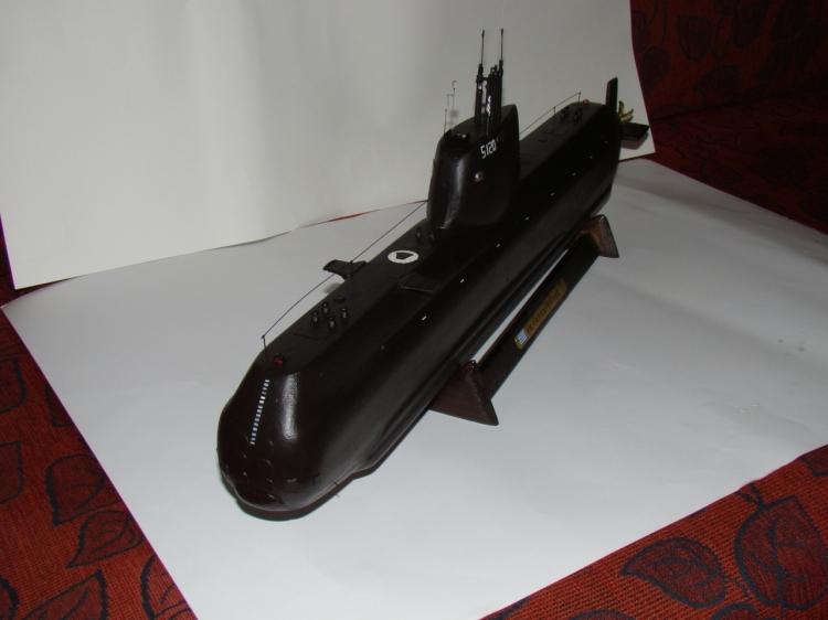 "[Scratch] SUB Type 214 Marine Grec S 120 ""Papanikolis""   43970_md"